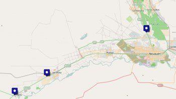Mapa del conflicto: dónde serán los cortes de ruta de ATEN