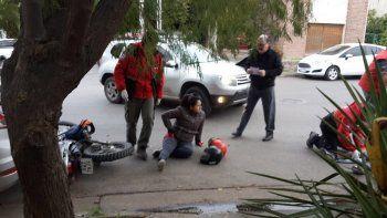dos heridos en un choque multiple en santa genoveva