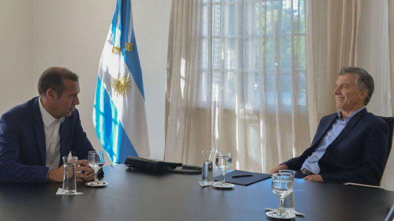 Omar Gutiérrez se reunió con Macri y aseguró que está dispuesto a colaborar con el gobierno nacional