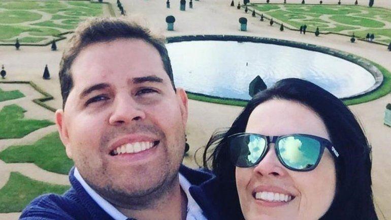 Luana y Rodrigo iban a contraer enlace en la ciudad de Passos.