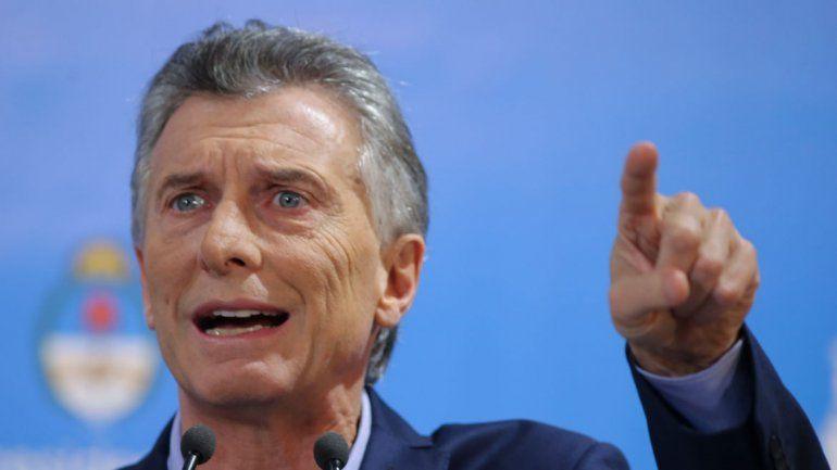 El jefe de Estado dio una conferencia de prensa en la Quinta de Olivos.
