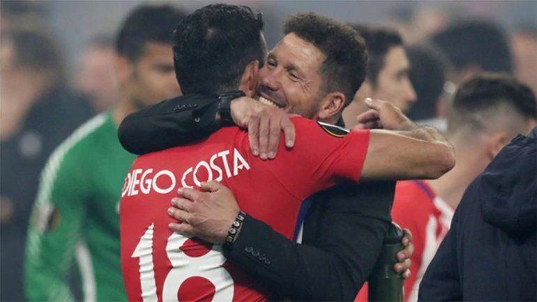 El equipo del Cholo se consagró campeón de la Liga de Europa.