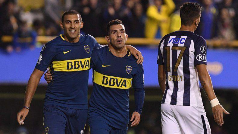 Boca goleó 5 a 0 a Alianza y está en octavos de la Copa