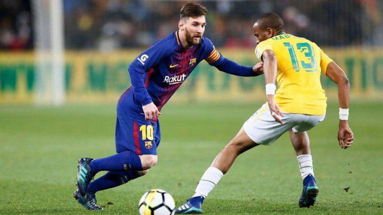 Entró 15 minutos en elamistoso del Barcelona.