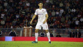 Alan Franco, un de los puntos altos en la última línea de Independiente.