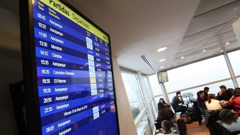 Pasó la niebla y el aeropuerto volvió a operar con normalidad