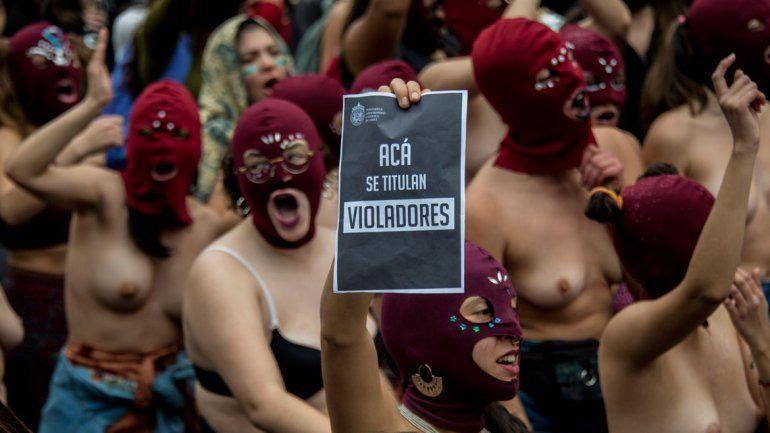 La mayor concentración se dio en Santiago de Chile.