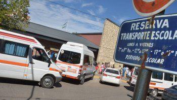 la muni publico el listado de transportes escolares habilitados
