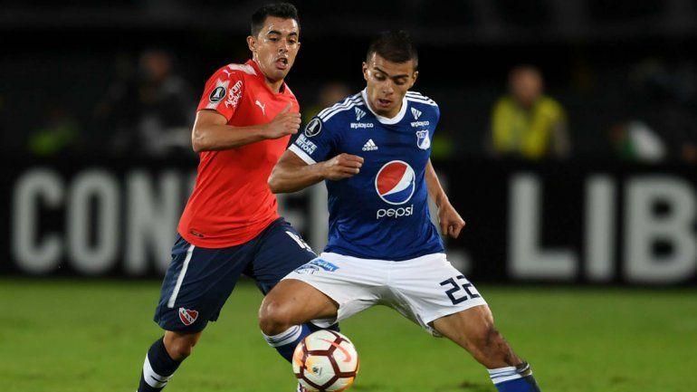 Independiente se llevó un empate ante Millonarios en Colombia
