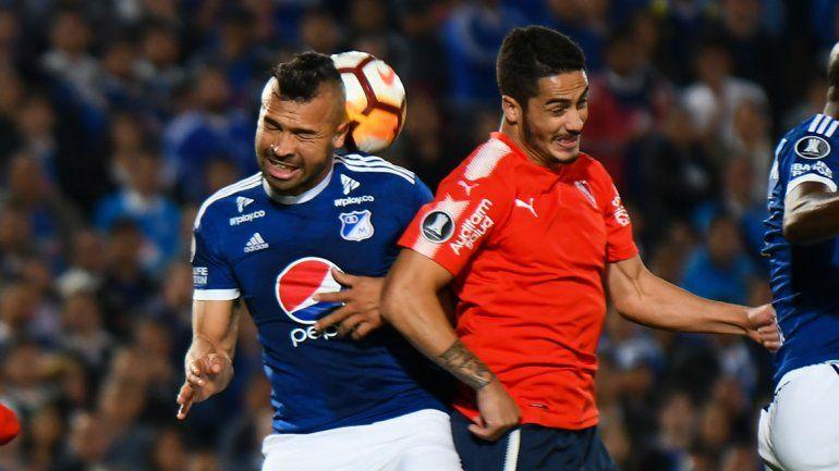 El Rojo perdía por un gol de penal y empató Gigliotti