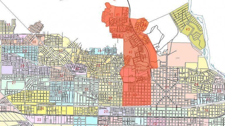 El mapa de los barrios que tienen problemas con el agua