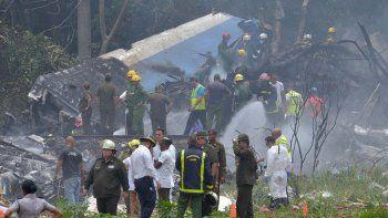 murio una de las sobrevivientes de la tragedia aerea en cuba