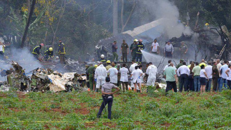 Las víctimas de la tragedia aérea de Cuba eran de Mar del Plata