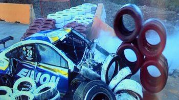 terrible accidente en el super tc 2000