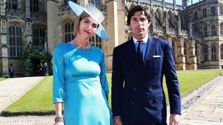 La pareja argentina que estuvo invitada a la boda real