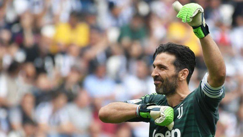 La emotiva despedida de Buffon de la Juventus