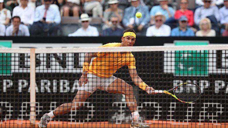 Nadal pasó a la final en Roma tras vencer al serbio Djokovic