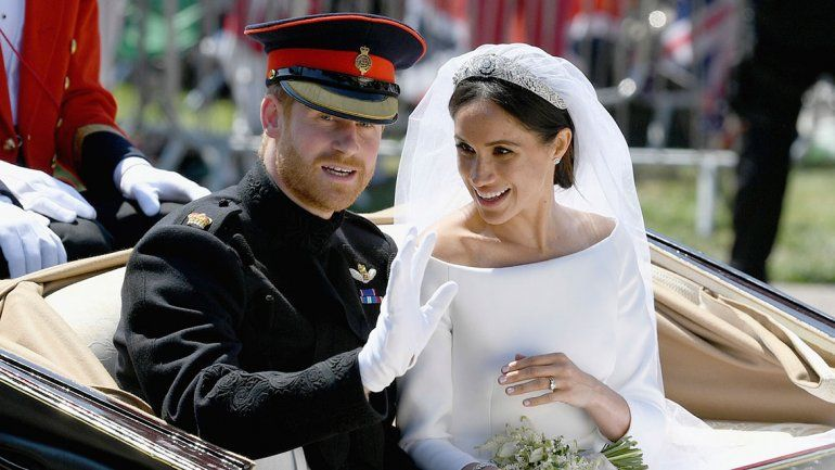 Entre glamour y jet set,  se casó el príncipe Harry