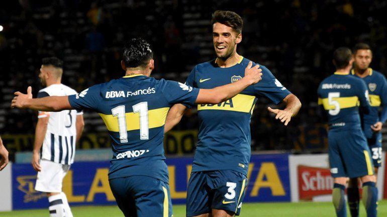 Con gol de Mas, Boca superó a Talleres en un partido amistoso