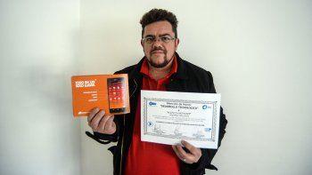 vecino de plottier recibira premio por aportar a la innovacion