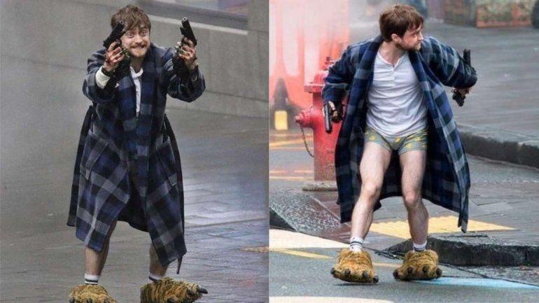 Sucio y armado, así encontraron al protagonista de Harry Potter