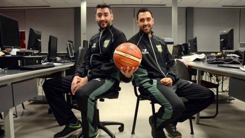 Charly (Pérfora) y Mario Sepúlveda (Español) juegan juntos en la selección neuquina.