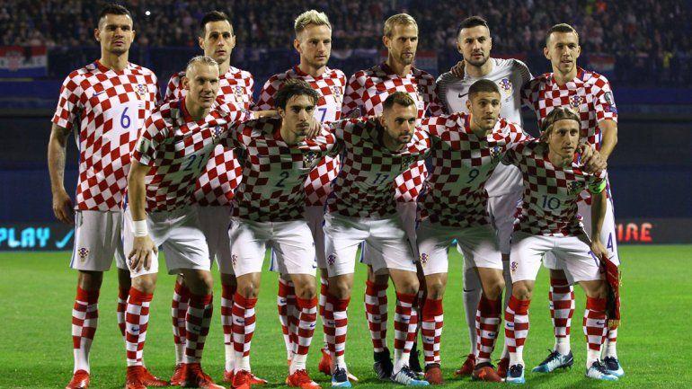 Croacia ya mostró la lista para el Mundial de Rusia 2018