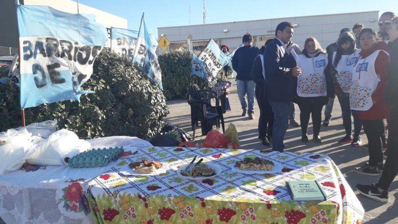 Barrios de Pie pidió en la Legislatura por una ley de emergencia alimentaria