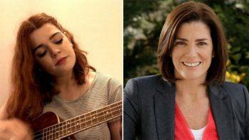 a tres meses de la muerte de la periodista debora perez volpin, su hija le hizo un homenaje