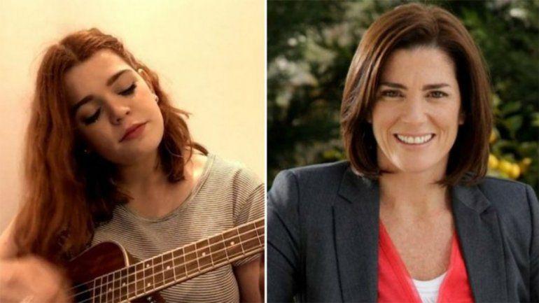 A tres meses de la muerte de la periodista Debora Pérez Volpin, su hija le hizo un homenaje