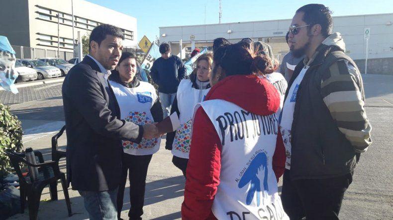 Barrios de Pie reclamó por emergencia alimentaria