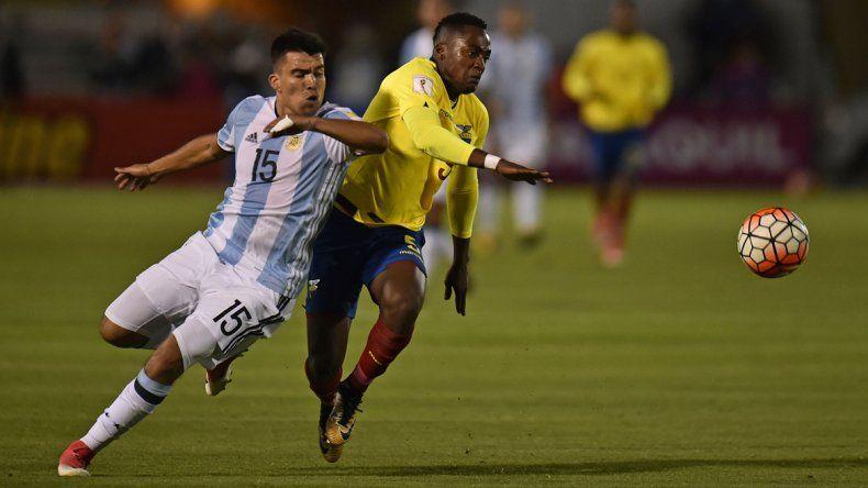 Contra Ecuador por las Eliminatorias fue clave y le sirvió para ganarse una lugar.