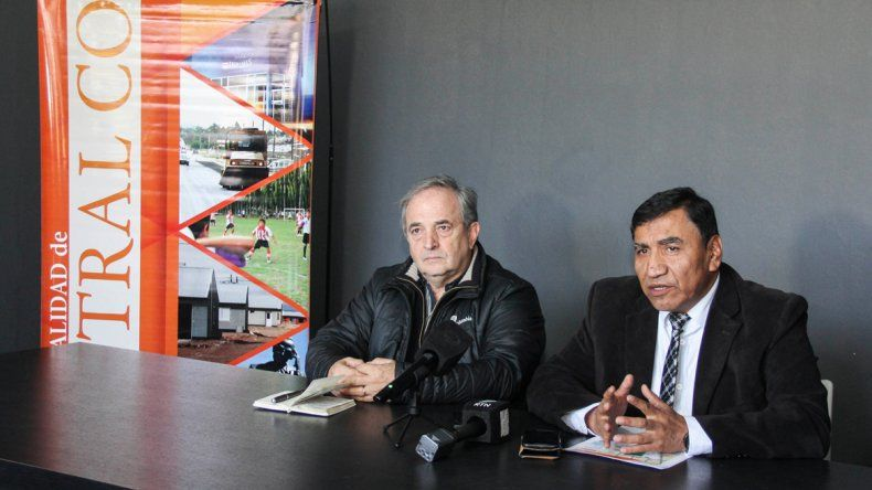Rapazzo Cesio y José Rioseco brindaron una conferencia de prensa.