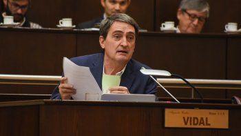 hay revuelo en la ucr por el voto del diputado vidal
