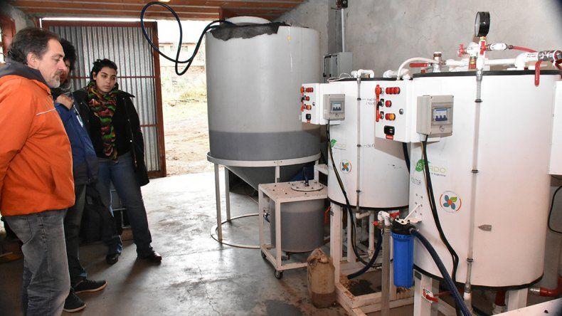 Una experiencia comunitaria:  Aluminé produce biodiésel