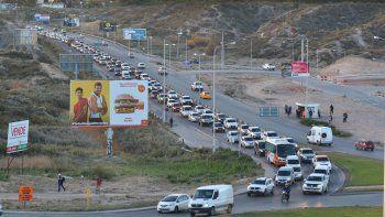 El caos de la Ruta 7 pide paciencia en las horas pico