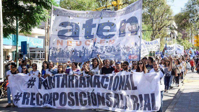 Cronología de los 40 días del paro docente en Neuquén