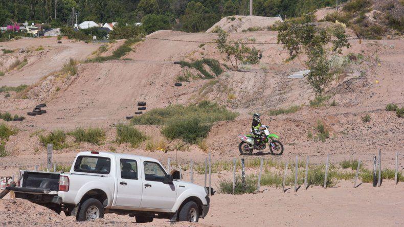 La barda se prepara para el Argentino de Motocross