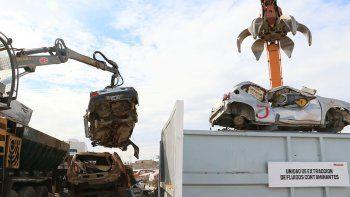 desde cipo mandan 308 vehiculos a la compactadora de neuquen