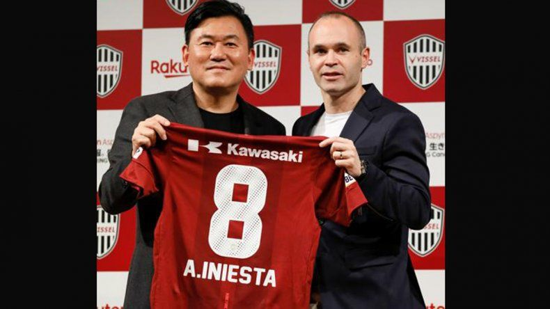 Expectativa en Japón ante la presentación oficial de Iniesta en el Viseel Kobe