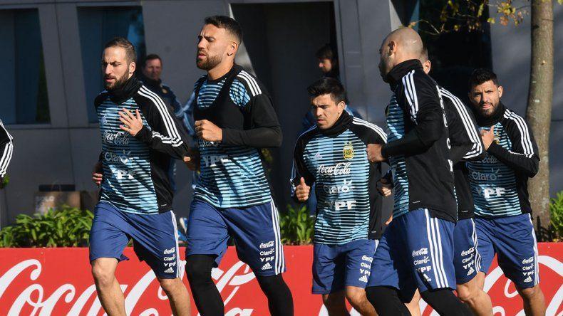 Higuaín se sumó a la Selección y dijo que el Mundial no es una revancha