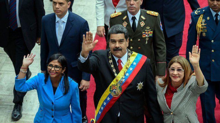 Siete heridos en un atentado mientras Maduro daba un discurso