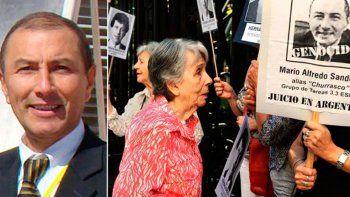Sandoval, acusado por la desaparición de un estudiante en la dictadura.