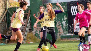 Los equipos representantes de Neuquén surgieron de la Liga Femenina.