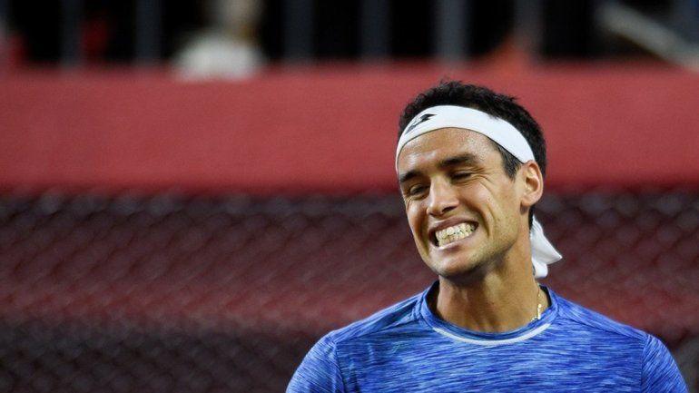 Nicolás Kicker integró el equipo de Copa Davis este año ante Chile.