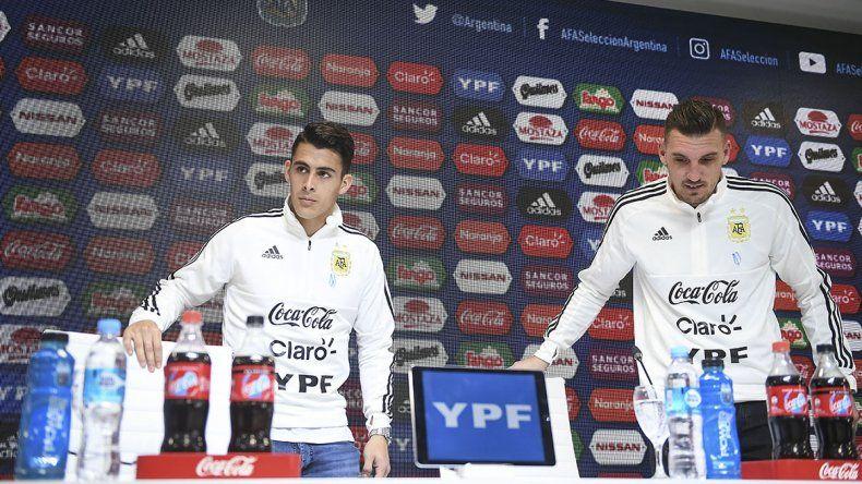Armani y Pavón consideraron que es un privilegio y tranquilidad estar con Messi