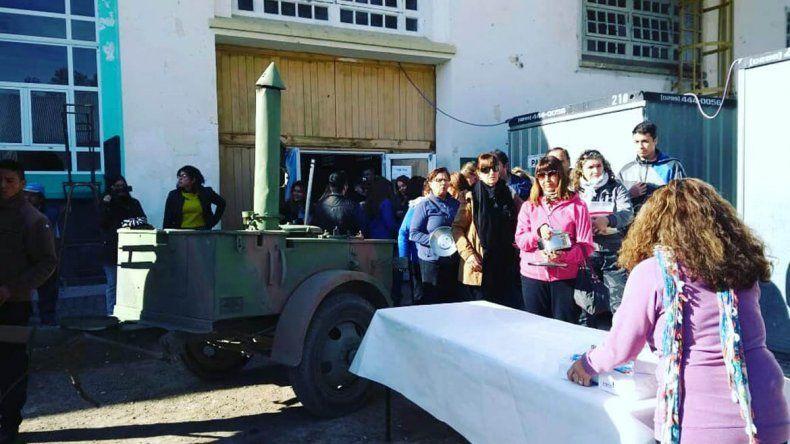 Se vendieron más de 600 porciones en El locro más grande la provincia