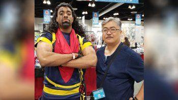 El creador de Bishop de X-Men saludó a los neuquinos