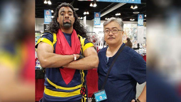 LMN en la Comic Con: El creador de Bishop de X-Men saludó a los neuquinos