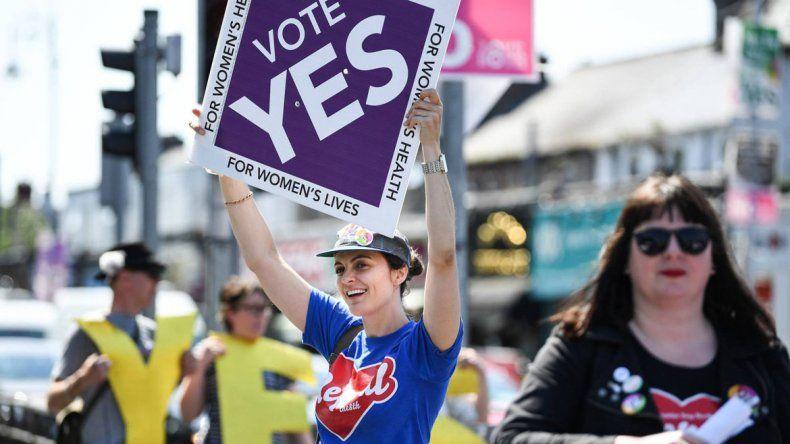 En un referéndum, una amplia mayoría votó a favor del aborto en Irlanda